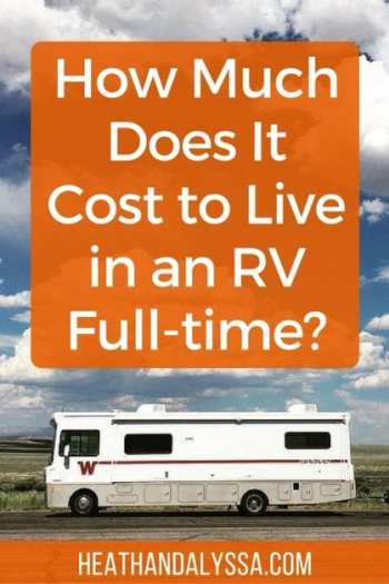 Find out how much we spend on lodging, gas, and more while living full-time in an RV.