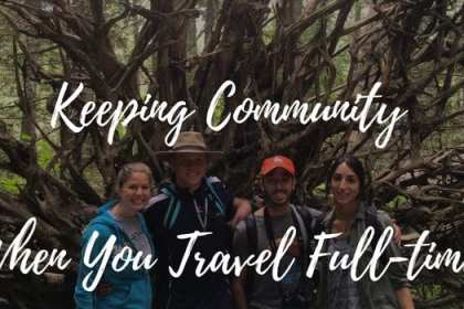 community when you travel full-time