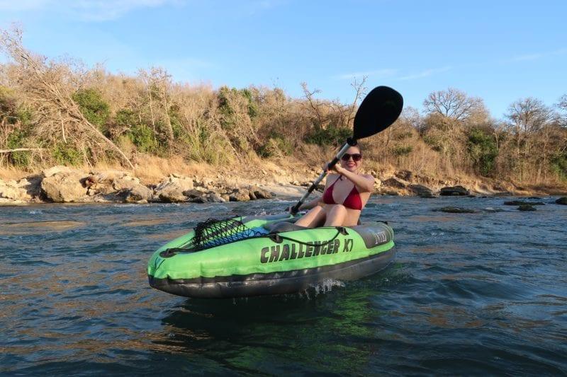 summer accessories kayak