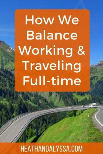 When we first started RVing, I didn't expect we would ever find a way to work and travel full-time, let alone sustain this lifestyle for nearly four years. Now, we run 3 businesses on the road. In this article, we'll share our tips for balancing work and travel, so you can have the best of both worlds.