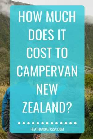 cost to campervan in New zealand