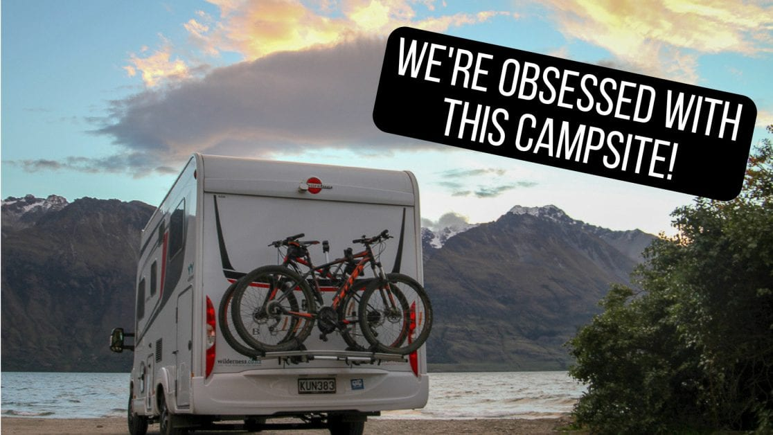 WE FOUND THE BEST CAMPSITE IN NEW ZEALAND (all caps totally necessary!)