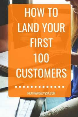 first 100 customers