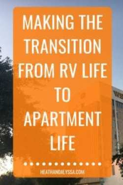 transition from rv life to