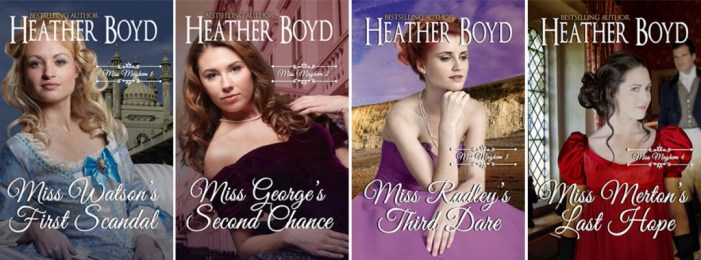 Miss Mayhem Book Series Covers