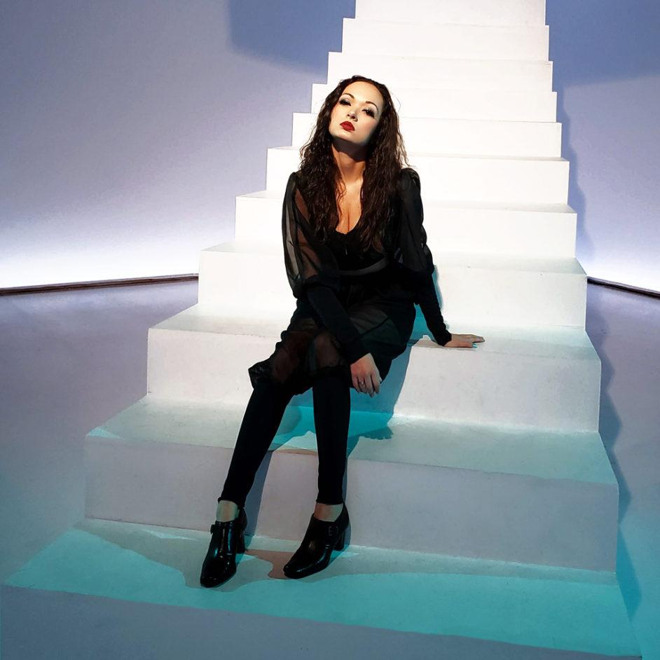 Heather Spears Fashion Design Portfolio Black Genie Pants