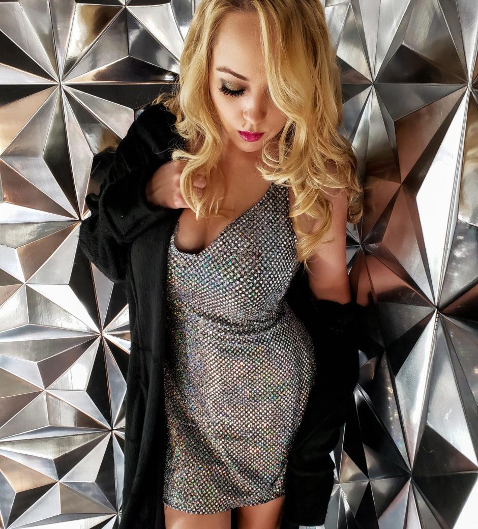 Beauty Con Pop LA Fashion Design Custom Dress