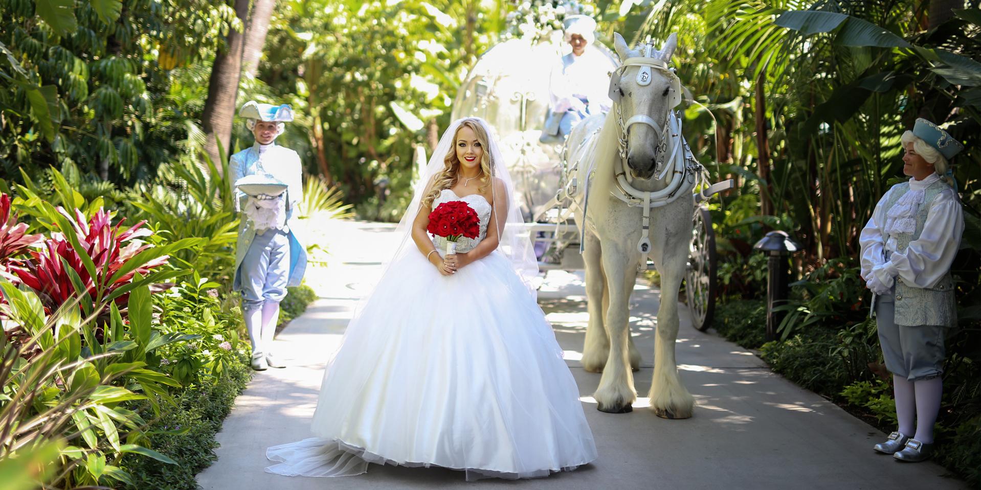 Fashion Designer Heather Spears Custom Wedding Dress Disney Fairytale Wedding