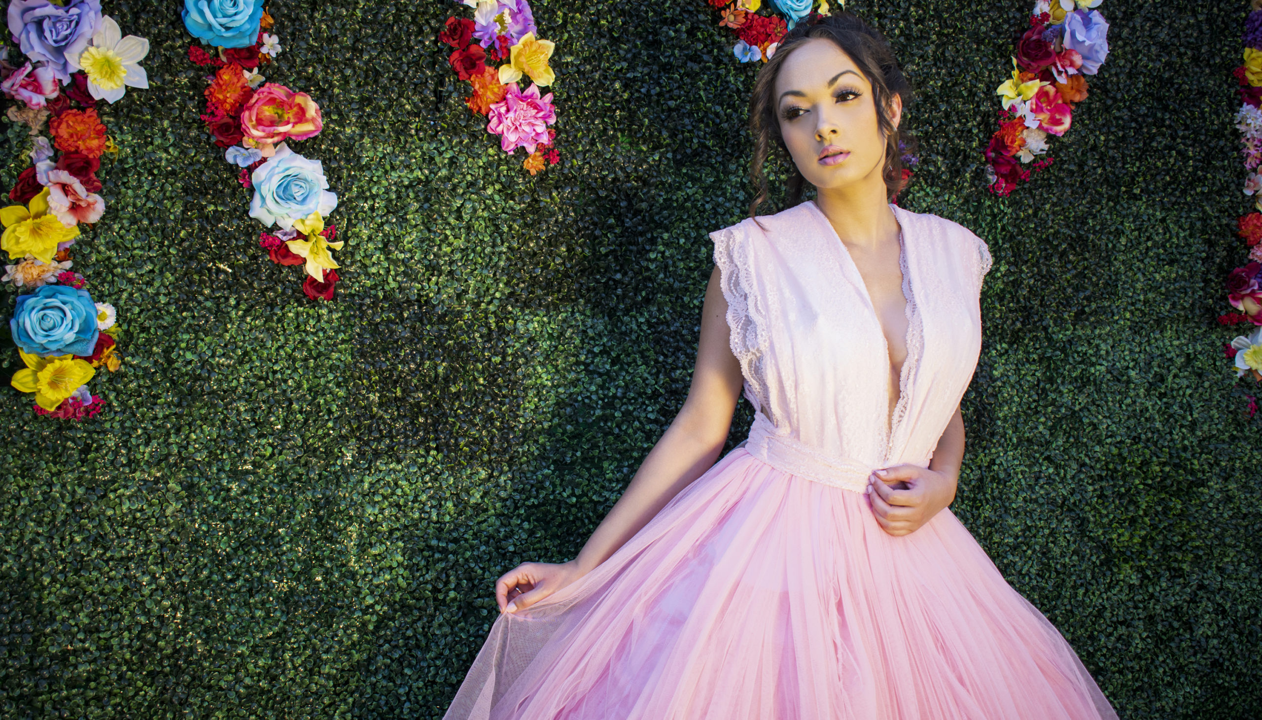 DIY Rom Challenge Pink BallGown by Heather Spears
