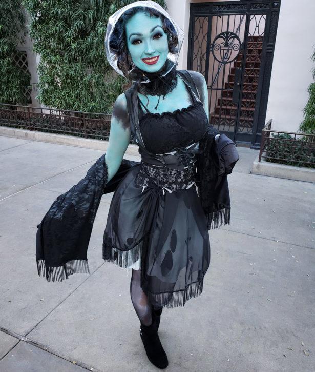 Madam Leota Haunted Mansion Cosplay at California Adventure