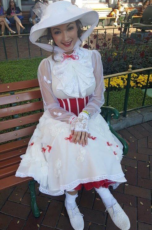 Heather Spears Custom Mary Poppins Jolly Holiday Costume Disney