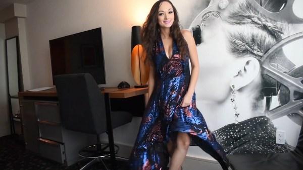 BCBGMAXAZRIA Maegan dress metallic warehouse sale dress