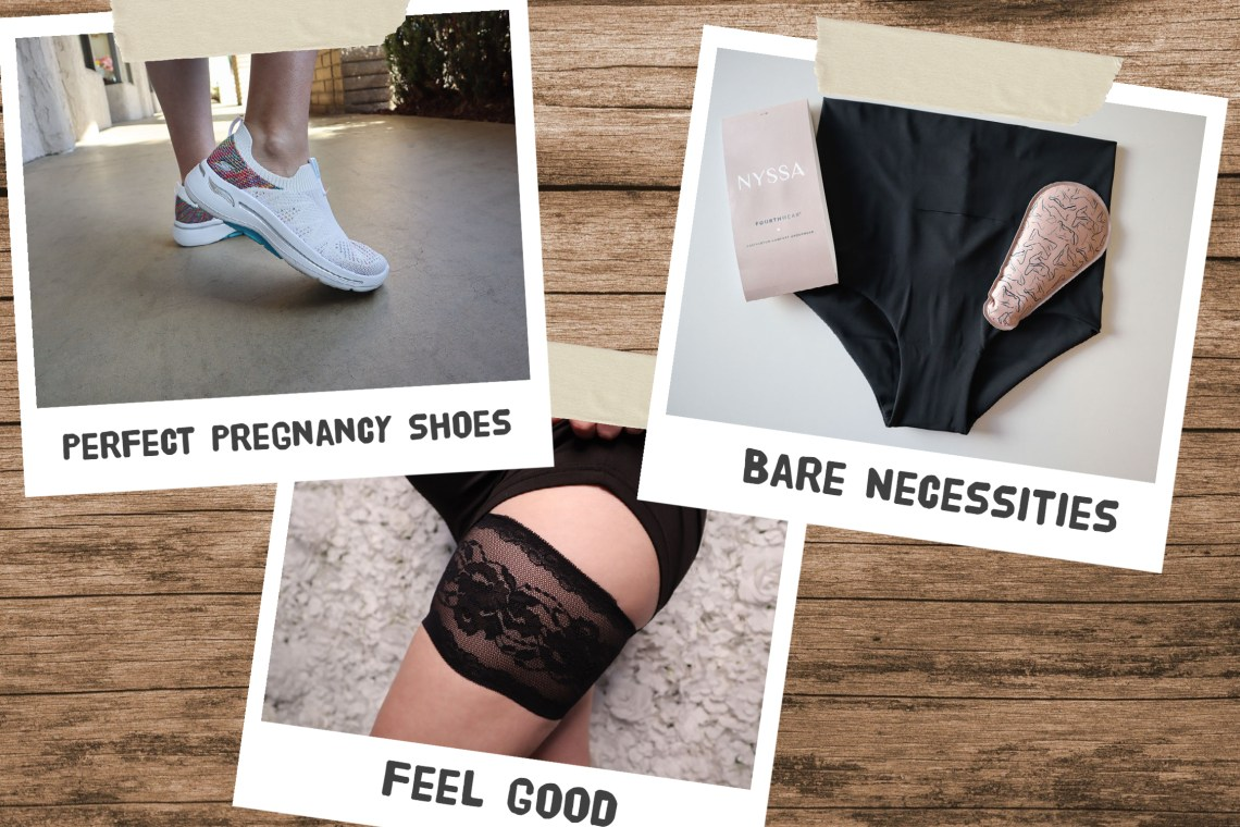 New and Expectant Mother Gift Guide Featured Image of three Products for moms