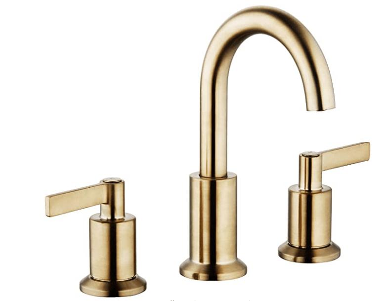 brass bathroom fixtures under 115