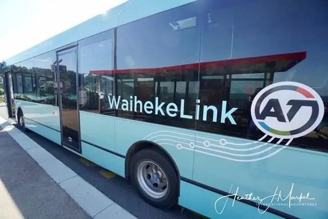 waiheke bus