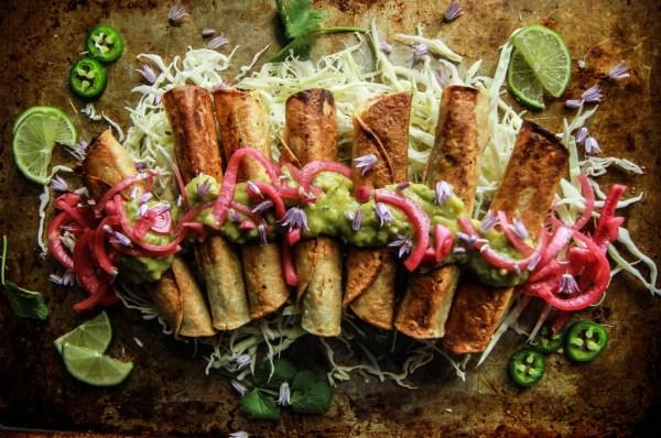 Sweet Spiced Beef Tacos Dorados de Heatherchristo.com