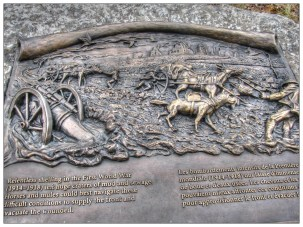 Lloyd Swick's motivation for the memorial was the Canadian success in the Battle of Passchendaele, to which he credits the use of mules. He also recognized the contributions horses and mules have made in transporting ammunition. Photo Credit - www.helenshomeworld.blogspot.ca