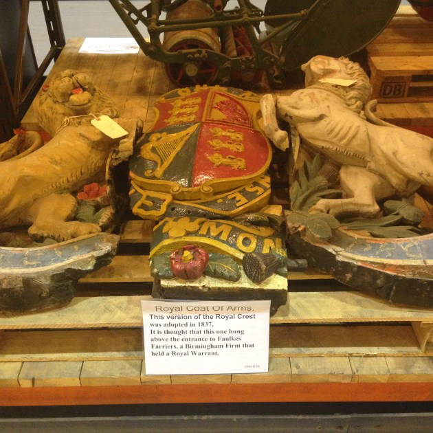 museum collections centre coat of arms