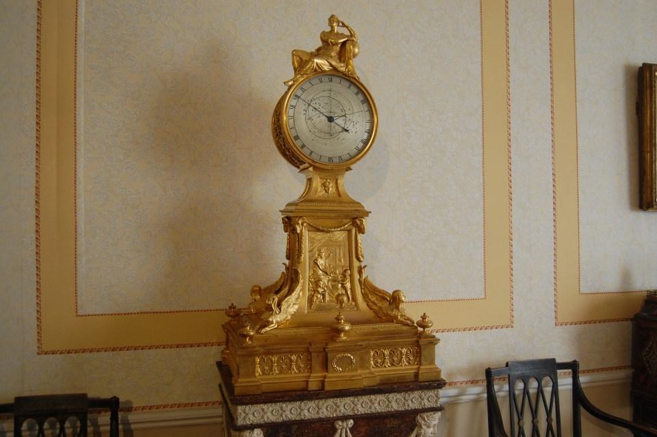 gold ormalou clock