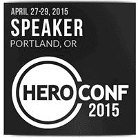 HeroConf 2015 Speaker