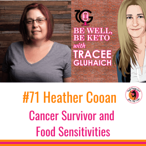 Be Well, Be Keto Podcast: Heather Cooan Cacer Survivor & Food Allergies