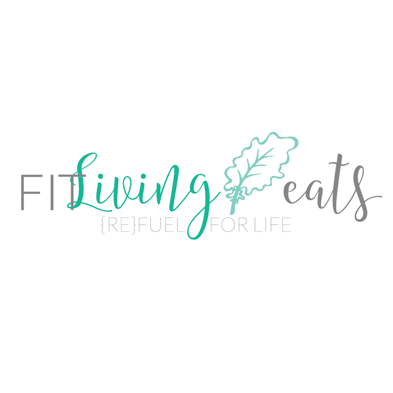 Heather Dauphiny Creative | FitLiving Eats Brand Identity & Logo Redesign