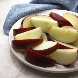apple wedges