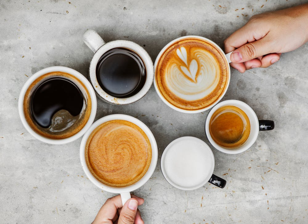 When you drink a cup of coffee you drink a cup of health.