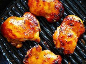 Honey Turmeric Chicken