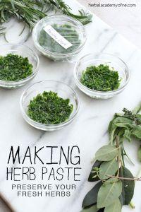 How to make herbal Pastes #heatherearles #herbnwisdom #naturalliving #healthblogger #podcaster #oregano #italiandishes #herbelpastes