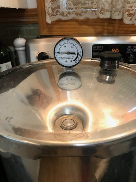 watching your pressure canner gauge