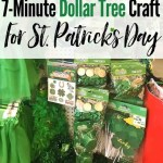 Dollar Tree Decorations A St Patrick S Day Tree The Heathered Nest