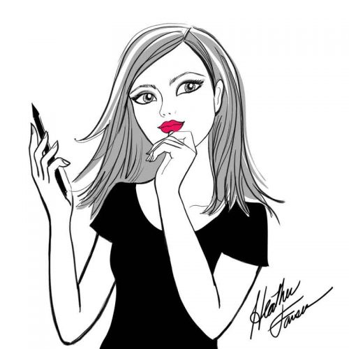 The Artist: Fashion Illustration by Heather Fonseca