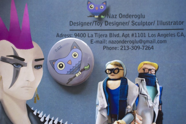 Naz Onderoglu's resume and promotional material