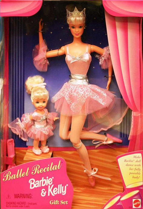 Ballet Recital Barbie and Kelly Gift Set