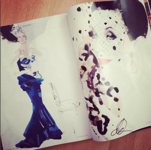David Downton: Fashion Illustrators on Instagram