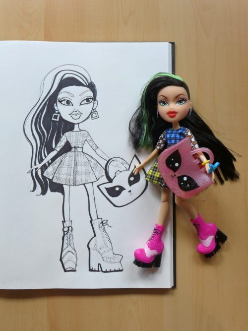 A Quick Sketch of the new Bratz Doll