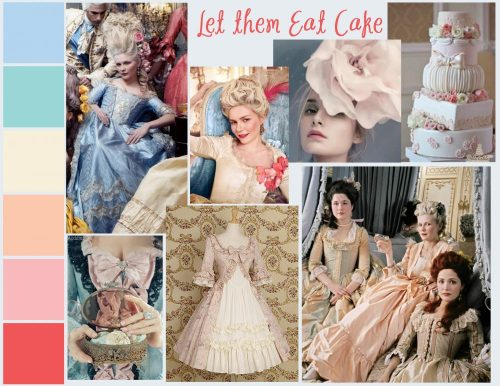 Let Them Eat Cake, a mood board