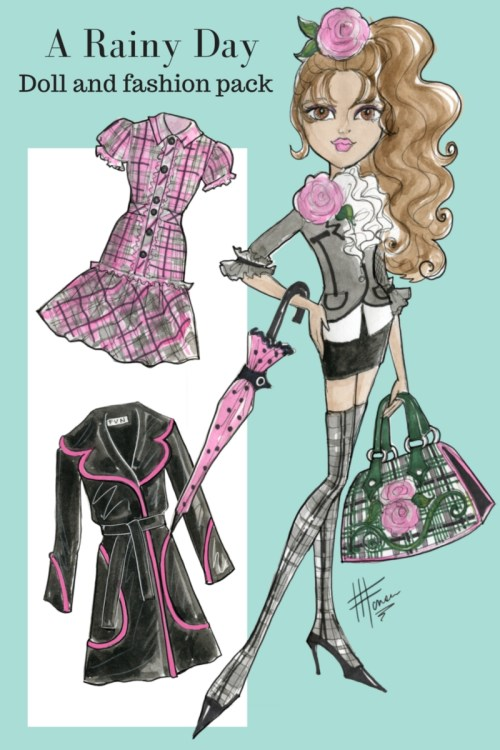 A Rainy Day Doll Fashion Design