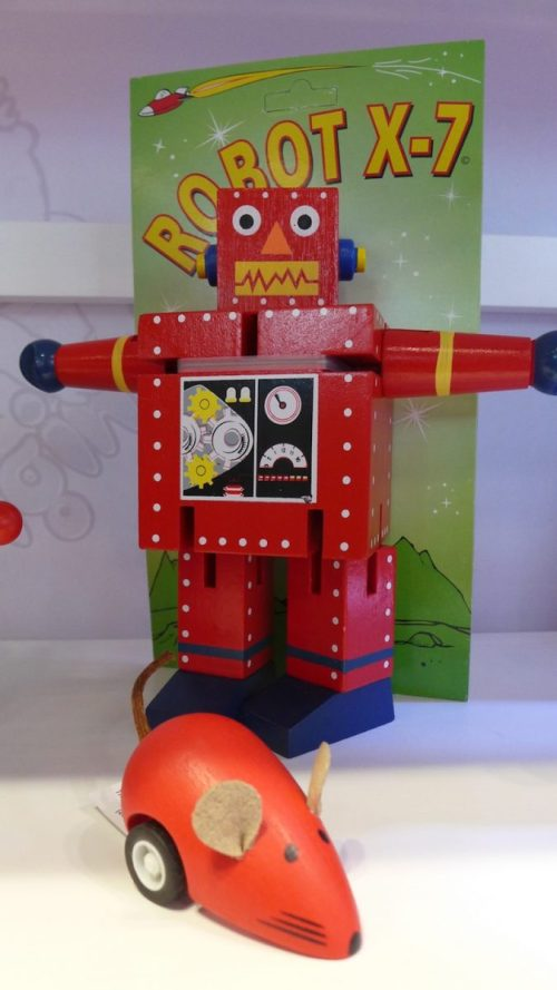 New York Toy Fair: Original Toy Company wood robot