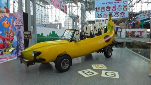 New York Toy Fair: The Bananagram Car