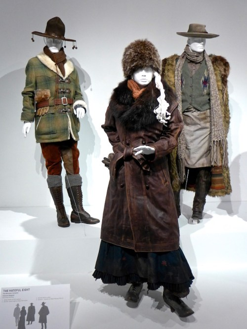 The Hateful 8: Costumes from the Movies of 2015 on display at FIDM