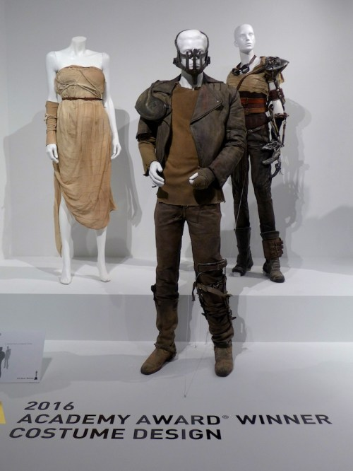 Mad Max: Costumes from the Movies of 2015 on display at FIDM