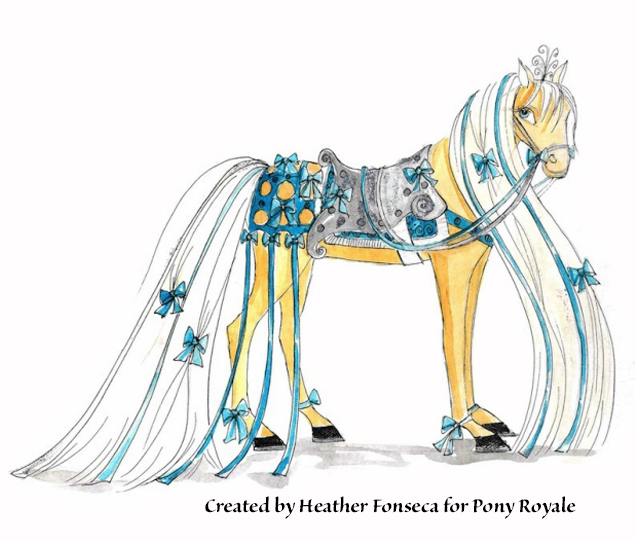 "Pony Royale invention design of ""Damsel"" by Heather Fonseca"