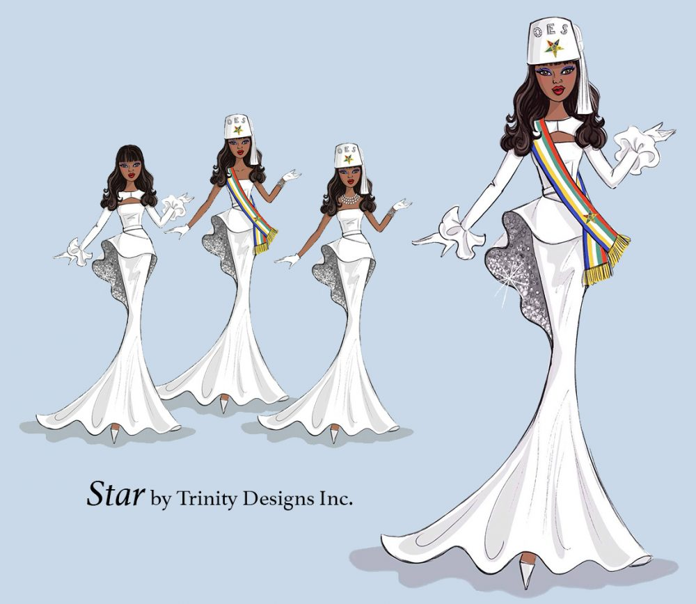 Star Doll Illustration for TrinityDesigns