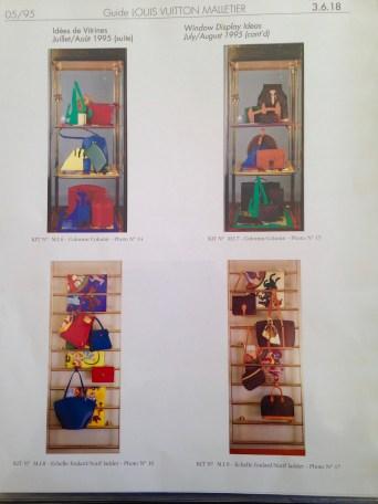 "Merchandising Catalogue ""The Bible."" Heather Gartside for Louis Vuitton 1995"