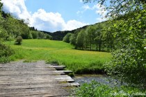 The Franconian Switzerland in spring.