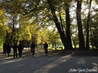 """Munich in """"fall."""""""