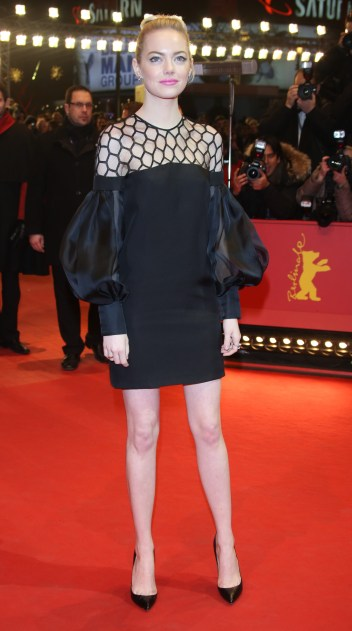 63rd Berlin International Film Festival (Berlinale) - The Croods - Premiere Featuring: Emma Stone Where: Berlin, Germany When: 15 Feb 2013 Credit: WENN.com **Not available for publication in Germany**