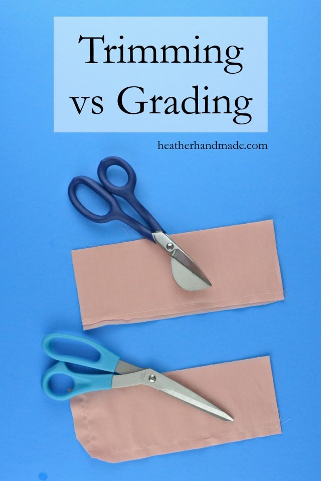 How to Grade Seams: Trimming vs Grading